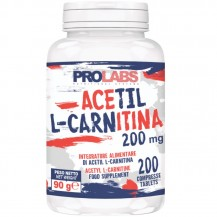 ACETIL L-CARNITINA 200mg  200CPR