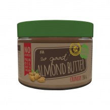 SO GOOD ALMOND BUTTER CRUNCHY 350GR