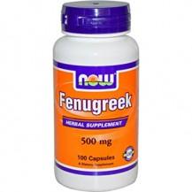 Fenugreek - FIENO GRECO - 500MG 100 CAPS
