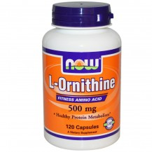 L-ORNITHINE 500MG 120 CPS